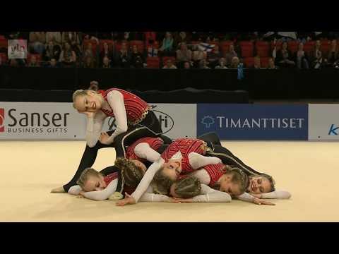 FIN Ovo Junior Team, Joukkuevoimistelun MM-kilpailut AGG Helsinki 2017 preliminaari
