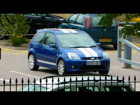 Insane Ford Fiesta ST engine exhaust sounds. Brutal revving and accelerations