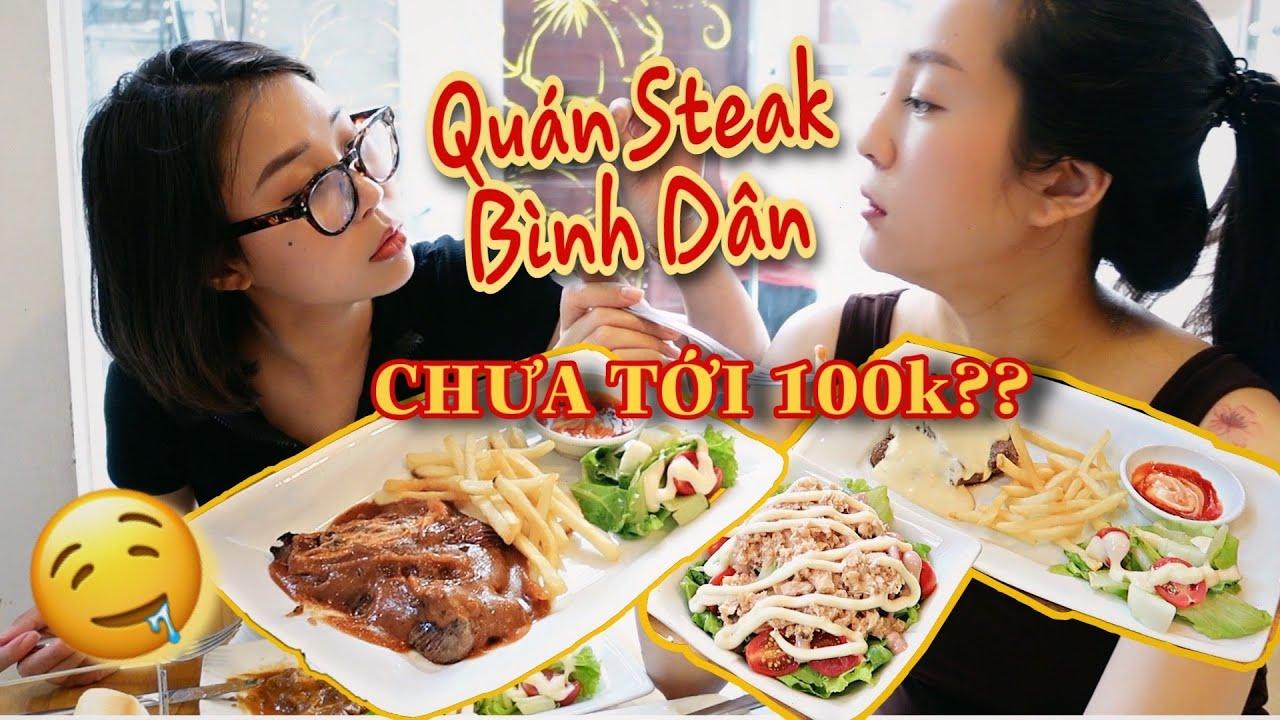 Khám Phá Quán Steak Bình Dân Cực Ngon Giá Chưa Tới 100k   LML Review