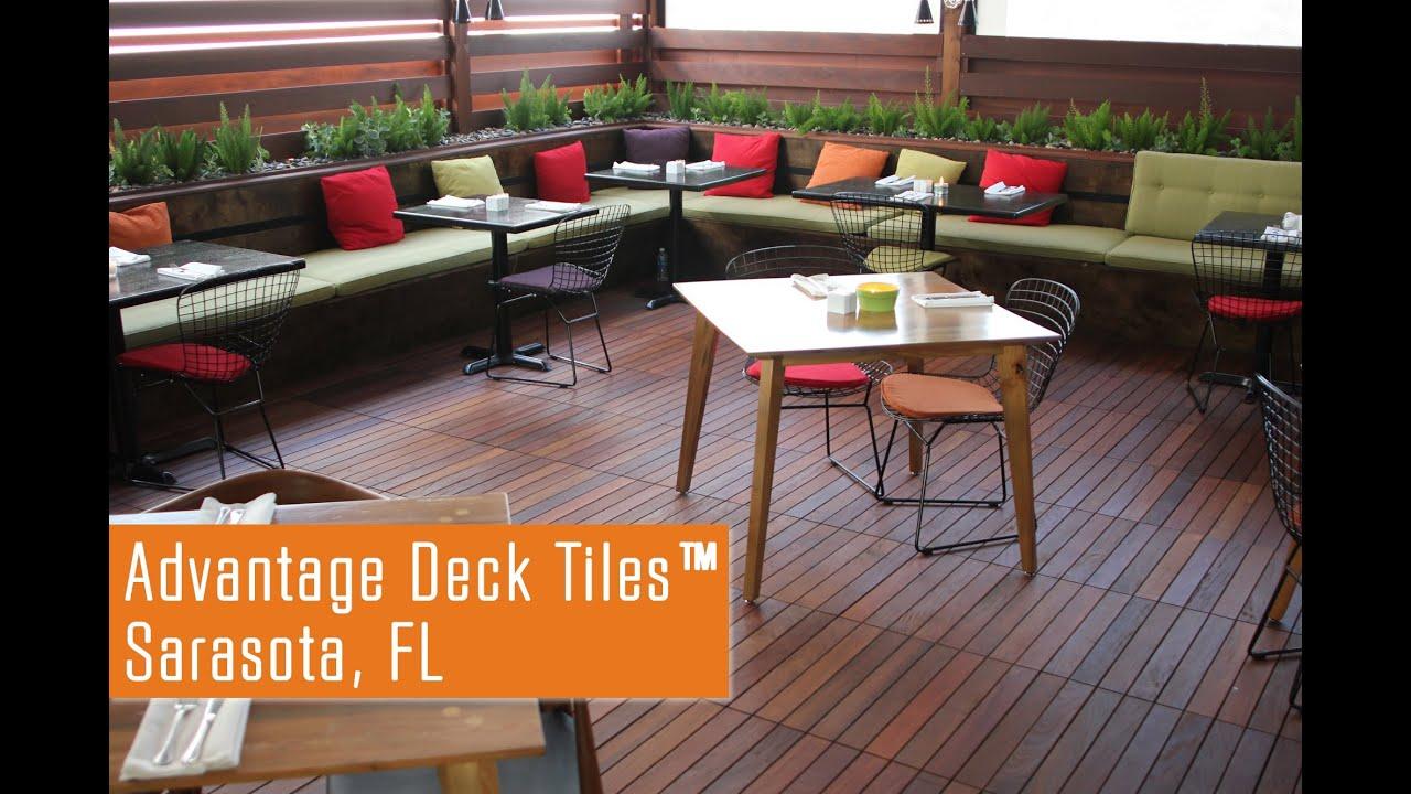 Deck Tiles Ipe Wood
