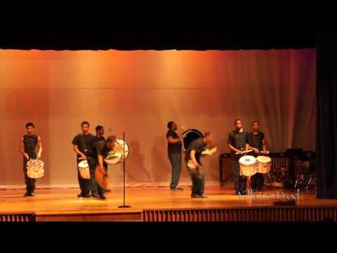 Cass Tech High School - Stick Squad Percussion feature - 2014