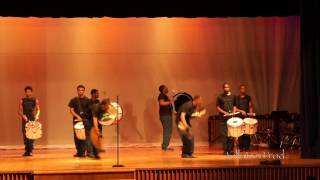 Cass Tech High School - Stick Squad Percussion feature - 2014