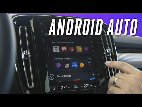 Volvo's native Android Auto system first look