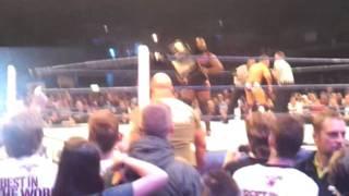 Mark Henry, Big Show, ECHO arena 8 Nov 2011