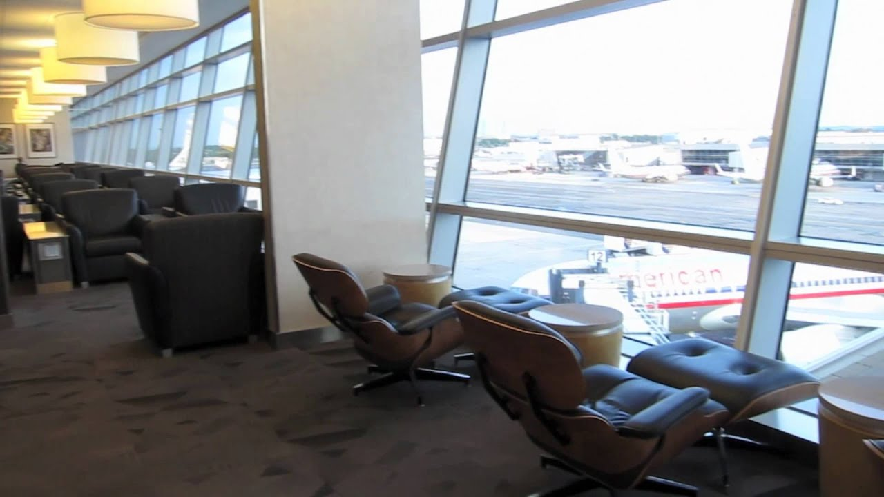 American Airlines Jfk Flagship Lounge Youtube