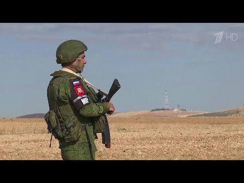 Военнослужащие России и Турции начали второе совместное патрулирование в Сирии.