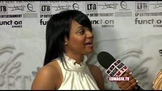 Kyla Pratt White Carpet Interview at White Carpet Christmas Charity Fundraiser (2009)