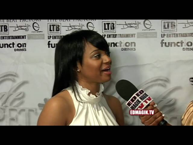 Kyla Pratt White Carpet Interview at White Carpet Christmas Charity Fundraiser (2009)