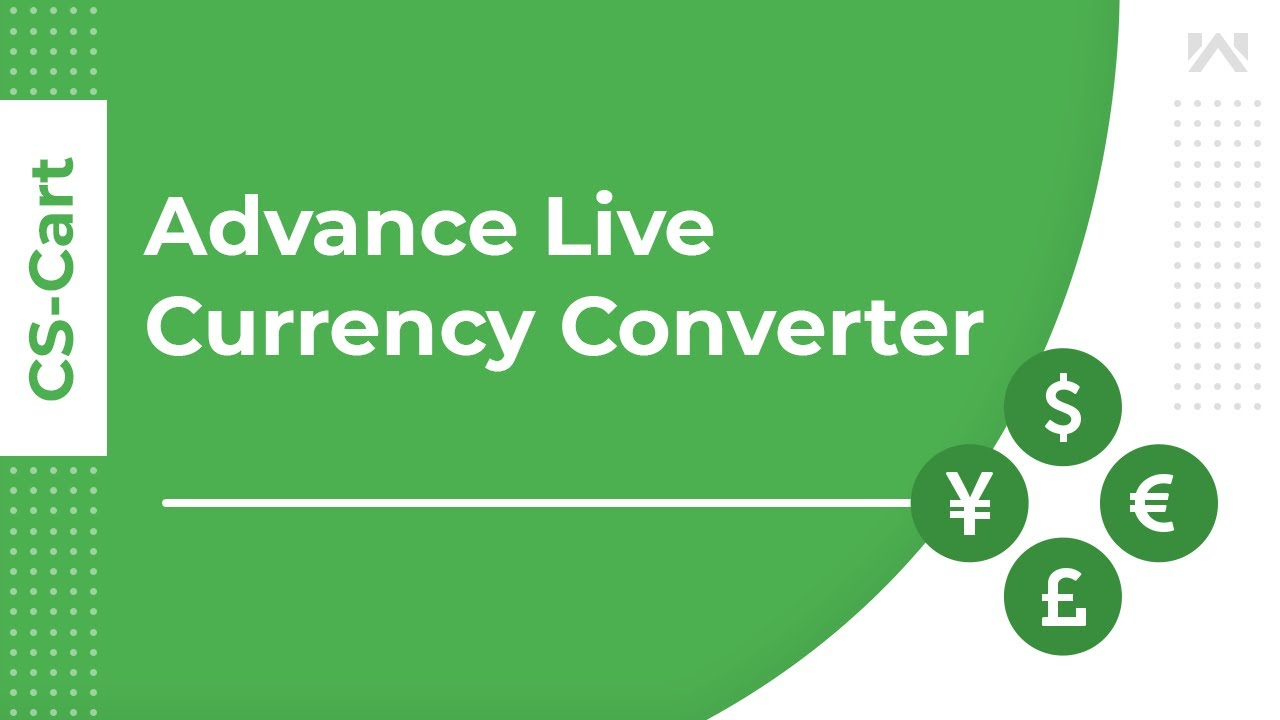 CS-Cart Advance Live Currency Converter | Live Rates From Google