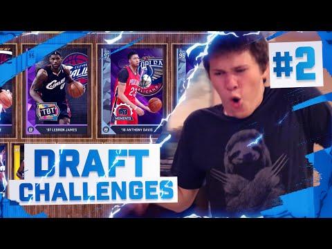 EXTREME NBA 2K16 DRAFT CHALLENGES!!!!  #2