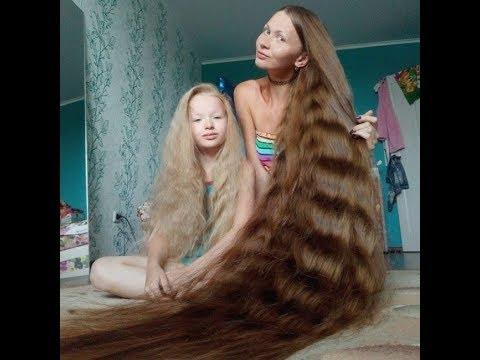 Красивые девушки с длинными косами фото / Очень красивые косы