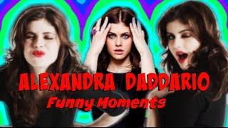 Alexandra Daddario - Funny Moments