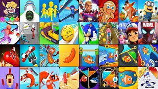 Rope-Man Run,Stickman Escape Prison,Stone Miner,Coin Rush,FNF Draw Puzzle,Going Balls,Join Clash 3D