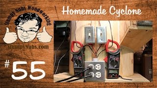 Snw55- The Homemade Wooden Dust Collection Cyclone (bill Pentz Design)