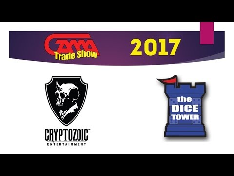 Cryptozoic Entertainment at GAMA Trade Show 2017