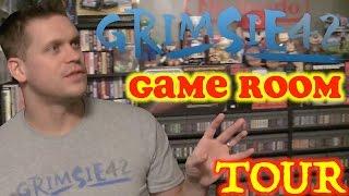 Game Room Tour 2015 3000+ Games Grimsie42