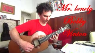 Mr. lonely Bobby Vinton cover guitar fingerstyle