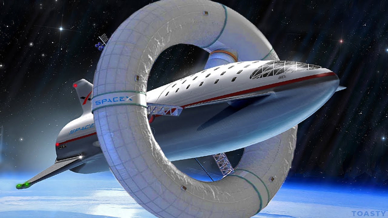 How SpaceX will Create Artificial Gravity in Space