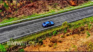 Drone views with the new 2019 BMW G20 3 Series