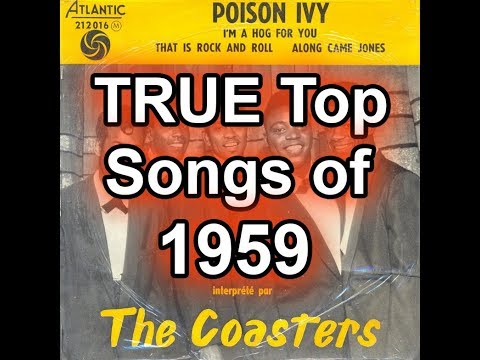 The TRUE Top 50 Songs of 1959 - Best Of List