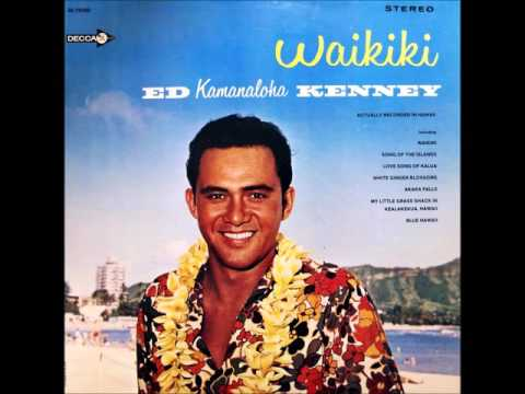 """Ed Kenney """"My Little Grass Shack in Kealakekua"""" 1965"""