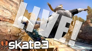 Skate 3: HOUR LONG LIVE CHALLENGES w/ ZexyZek!