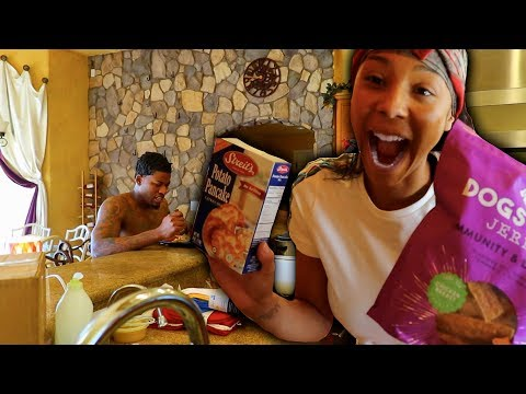 DOG FOOD FOR BREAKFAST PRANK!