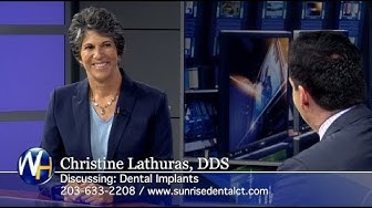 Replacing Missing Teeth with Dental Implants with Waterbury, CT dentist Christine Lathuras, DDS