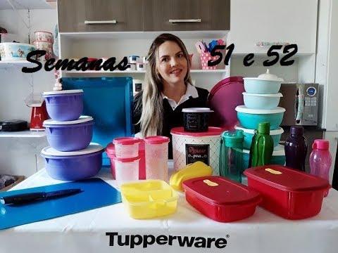 Abrindo Caixa Tupperware Semana 51 E 52 Youtube