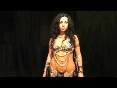 Diana Bastet Metal Belly Dance. Melechesh