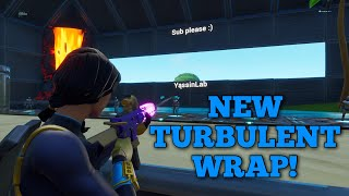 *NEW* FORTNITE TURBULENT WEAPON WRAP SHOWCASED IN GAME - SHOWCASED WITH BOLT SKIN