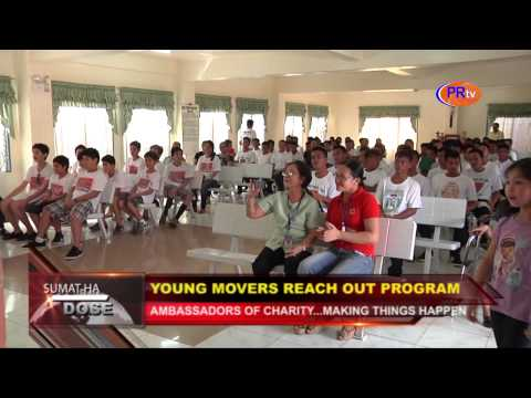 Young Movers Reach out Program in Leyte