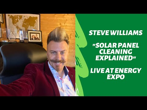 Solar Panel Cleaning Explained At Energy Expo 2015