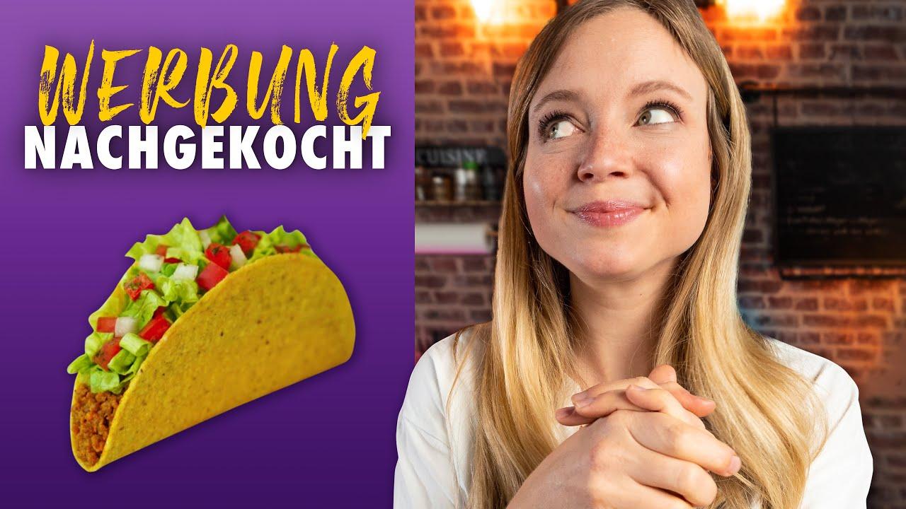 Die Taco Bell Taco Werbung 1 zu 1 nachgekocht
