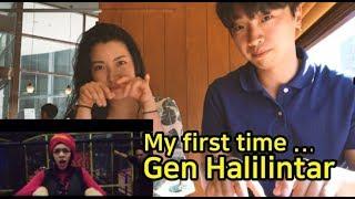 "[REAKSI] ORANG KOREA ""Gen halilintar - shape of you!"""