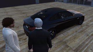 Mijn eigen auto zit in GTA RP