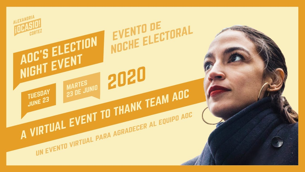 ELECTION NIGHT WITH AOC