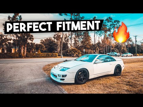 TWIN TURBO 300ZX Gets Perfect New Look! + Stance