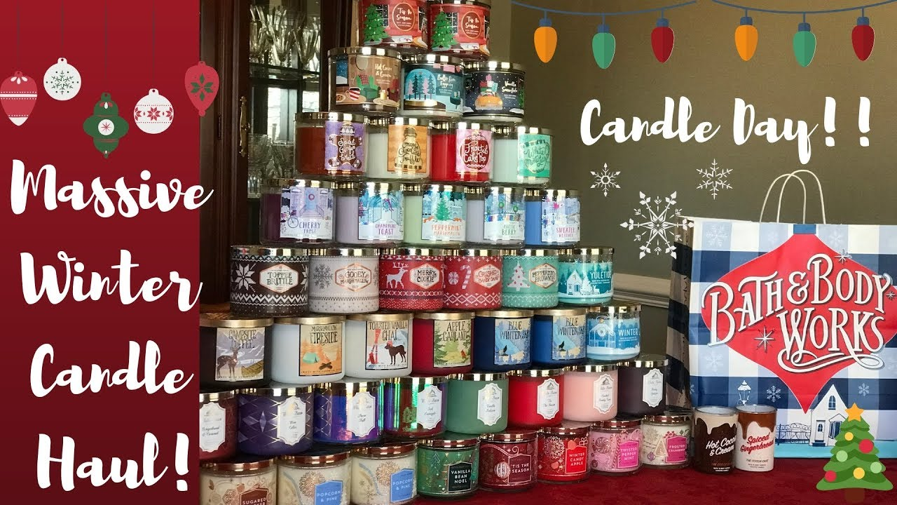 Bath And Body Works Candle Day