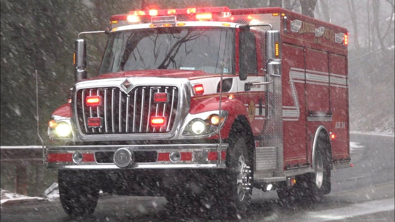 Gladwyne Fire Company Air 24 Responding
