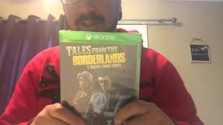 Tales From The Borderlands Xbox One Unboxing