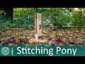 How to make a Stitching Pony | DIY Leatherworking Stitching Pony - Clamp