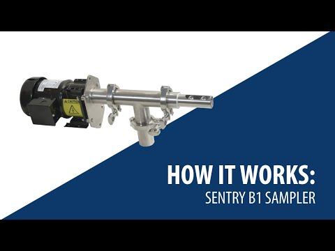 How The Sentry B1 Automatic Solid & Powder/Bulk Solids Sampler Works