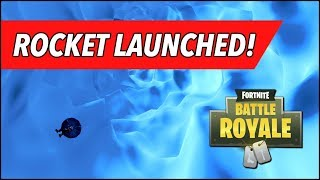 Blast Off! Sky View Full Rocket Launch Final Results (Fortnite BR)