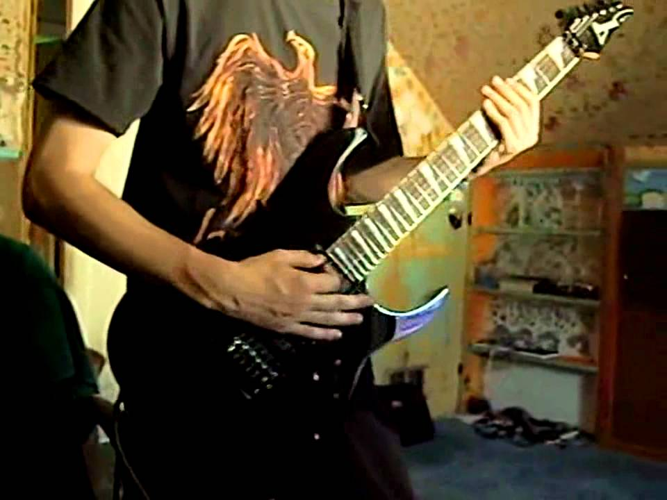 how to play floods by pantera on guitar
