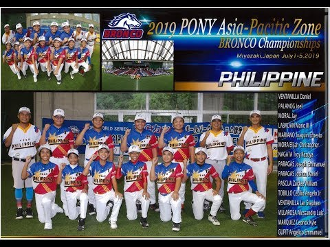 Philippines vs Australia Finals 2019 PONY Asia Pacific Zone Championships
