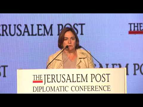 Interview with Senior Contributing Editor of The Jerusalem Post Caroline B. Glick on the sidelines o