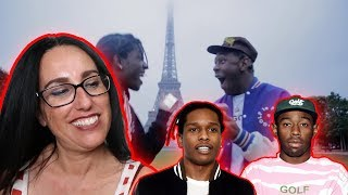 Mom REACTS to A$AP ROCKY X TYLER THE CREATOR - POTATO SALAD