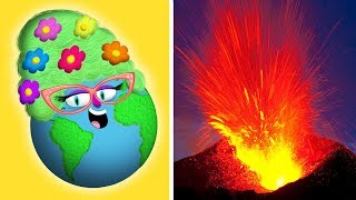 Volcanoes for Kids | How Volcanoes Work | Earth Science