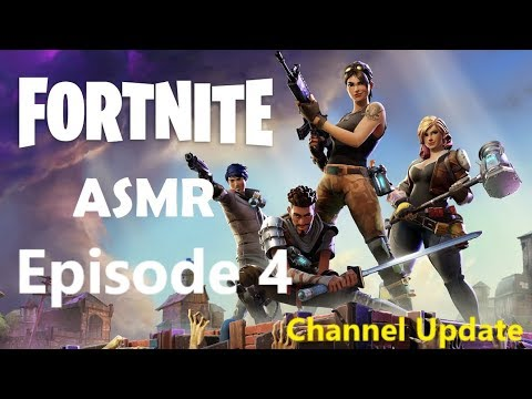 ASMR Gaming: Fortnite / Channel Update - Road to 2K Subs! [Gaming Sounds]